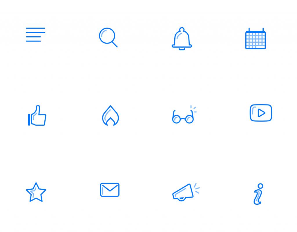Squid App icons