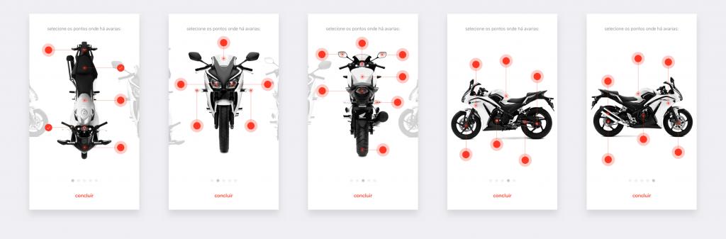 Aplicativo iOS de vistoria de veículos