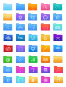 macOS Folder Redesign